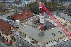 European-Crane-Media System, Rundkörper, Ansicht von oben